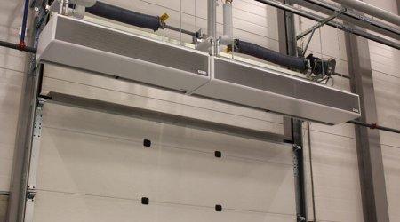 Innovation Living: Lufttæpper til forsendelsesafdeling