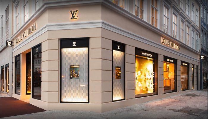Louis Vuitton Butik udefra